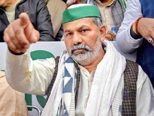 51 साल के टिकैत- 65 दिन से आंदोलन में टिके हैं। इनका परिवार पश्चिमी उत्तरप्रदेश में मुजफ्फरनगर के सिसौली से है। चार भाइयों में राकेश दूसरे नंबर के हैं। - Dainik Bhaskar