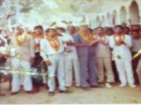 कार सेवा में जाते समय शंकर भारती फाइल फोटो