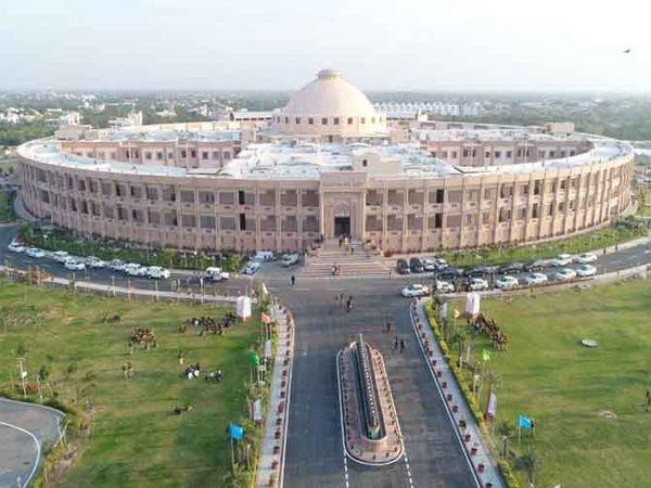 जोधपुर स्थित राजस्थान हाईकोर्ट को भवन। - Dainik Bhaskar