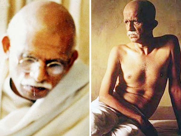 फिल्म 'सरदार' में अन्नू कपूर और 'गांधी माय फादर' में दर्शन जरीवाला ने महात्मा गांधी का किरदार निभाया था। - Dainik Bhaskar