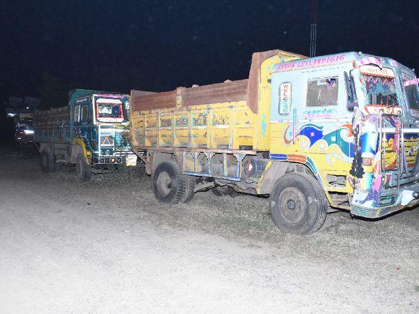 राजसात हुए वाहनों की फाइल फोटो - Dainik Bhaskar