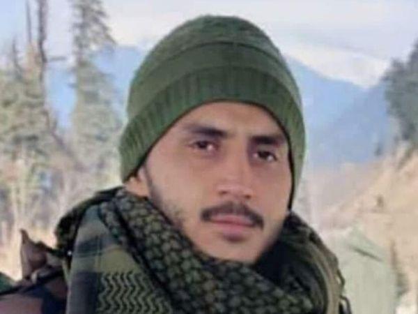 शहीद हो गया देश का बेटा निखिल। - Dainik Bhaskar