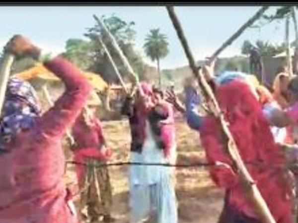 दौसा ग्रामीण| लाडली का बास में भूमि विवाद में चली लाठियां। - Dainik Bhaskar