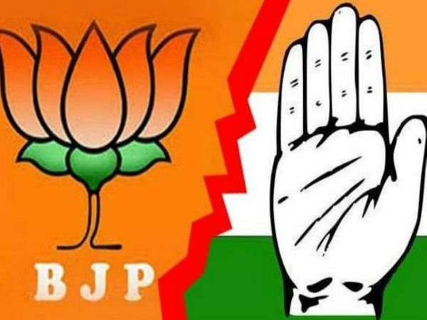 किसानाें के समर्थन में भाजपा ने दिया धरना, कांग्रेस ने निकाली ट्रैक्टर रैली। - Dainik Bhaskar