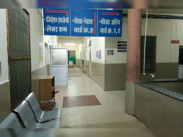 सिविल अस्पताल हजीरा में न तो बड़े ऑपरेशन हो रहे हैं और न अल्ट्रासाउंड। - Dainik Bhaskar