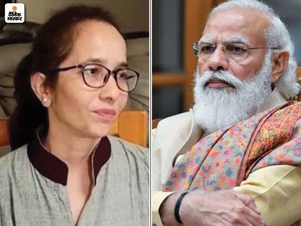 गुजरात भाजपा ने तय किया है कि निकाय चुनाव में पार्टी नेताओं के रिश्तेदारों को टिकट नहीं दिया जाएगा। इसके चलते ही पीएम की भतीजी सोनल का टिकट काटा गया। -फाइल फोटो। - Dainik Bhaskar