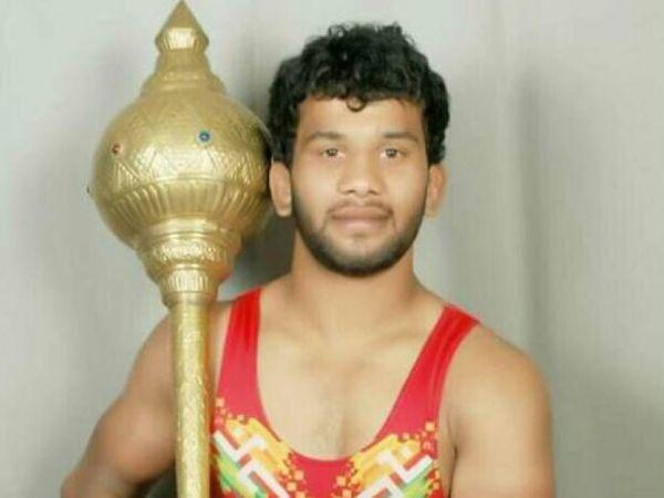 कुश्ती पहलवान सनी जाधव - Dainik Bhaskar