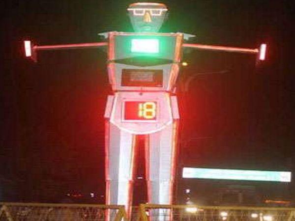 रोबोट चौराहा (फाइल फोटो) - Dainik Bhaskar