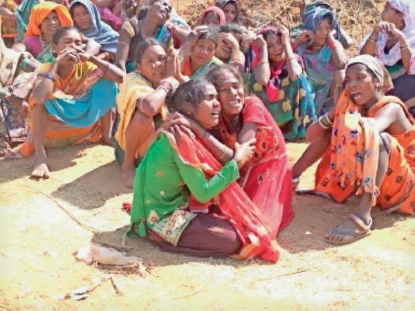 ओडिशा में हुए इस हादसे के दौरान जगदलपुर की 9 महिलाओं की मौत हुई थी। इसमें सात ने मौके पर ही दम तोड़ दिया था। - Dainik Bhaskar