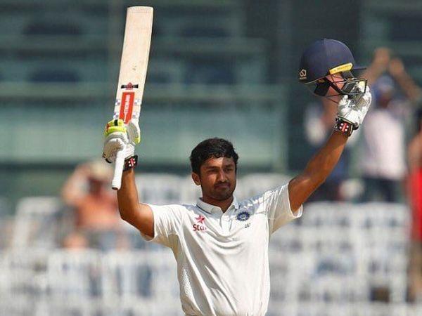 करुण नायर ने 2016 में चेन्नई टेस्ट में तिहरा शतक जमाया था। - Dainik Bhaskar