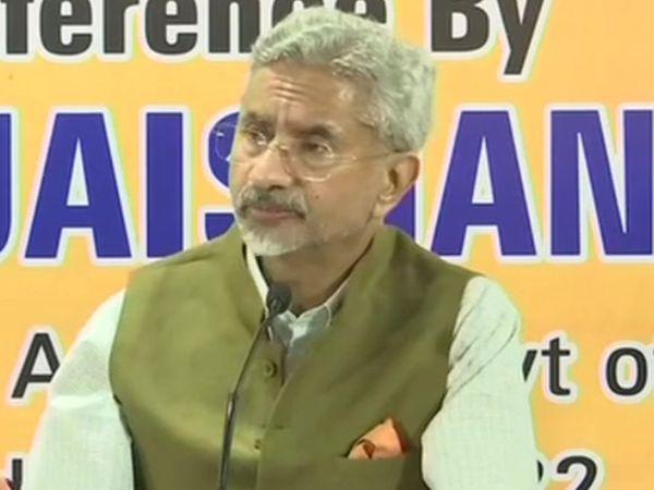विदेश मंत्री एस जयशंकर ने बताया कि मसले का हल भारत और चीन की सेनाओं पर निर्भर है। हमें भूगोल की स्थिति का पता होना चाहिए और यह जानना जरूरी है कि वहां क्या हो रहा है। - Dainik Bhaskar