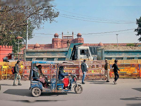 सुरक्षा के लिए बंद किए मेट्रो स्टेशन देर शाम खोले गए - Dainik Bhaskar