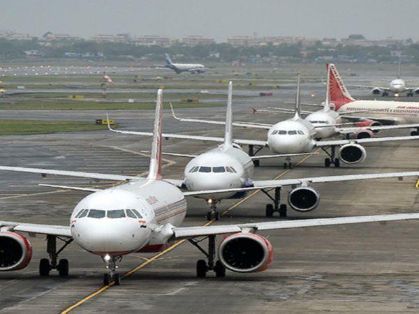 एयरलाइन कंपनियों पर प्री-कोविड लेवल के मुकाबले अधिकतम 80% क्षमता के साथ फ्लाइट ऑपरेट करने की लगाई गई सीमा को 31 मार्च 2021 तक के लिए बढ़ाया गया है। - फाइल फोटो - Money Bhaskar