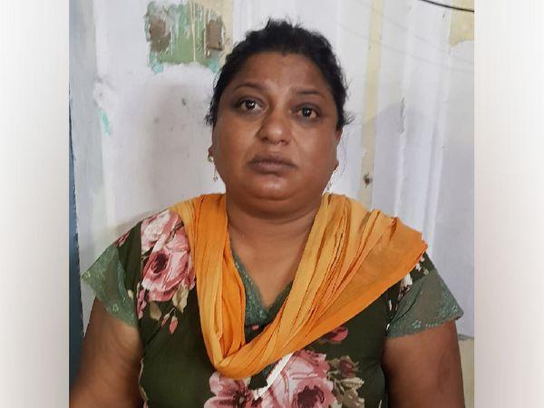 जिला अस्पताल से फरार महिला बंदी सुनीता (फाइल फोटो) - Dainik Bhaskar