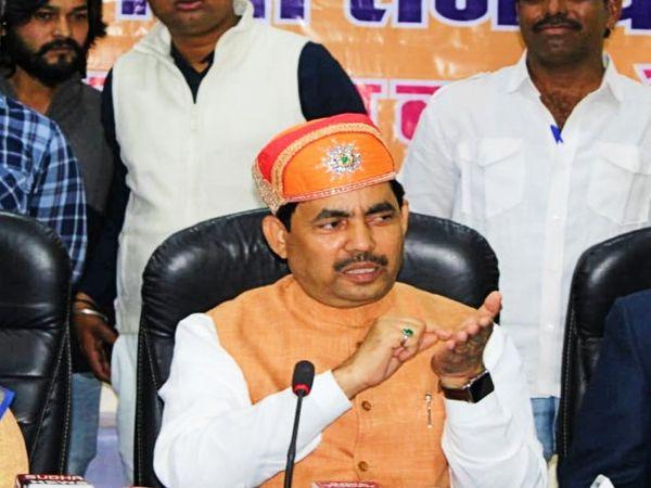 बिहार सरकार के कैबिनेट मिनिस्टर शाहनवाज हुसैन। - Dainik Bhaskar