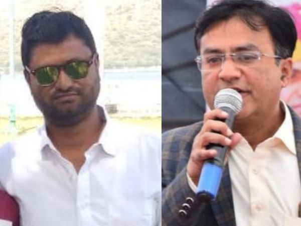 दो स्कूल स्टाफ फुकरान (बांए) औररफीक (दांए) की मौत हो गई। - Dainik Bhaskar