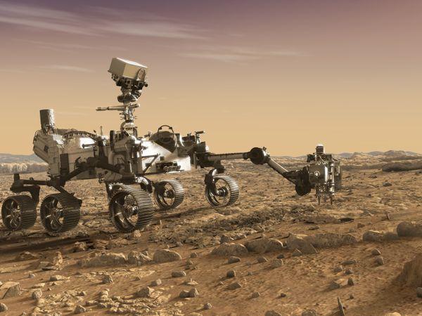 इससे पहले भी नासा के चार रोवर मंगल की सतह पर उतर चुके हैं। पर्सेवरेंस नासा के मार्स मिशन का चौथी पीढ़ी का पांचवां रोवर है। - Dainik Bhaskar
