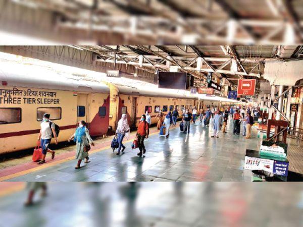 इंदौर-गांधीनगर के चलने से गुजरात जाने वाले यात्रियों को काफी राहत मिलेगी। - Dainik Bhaskar