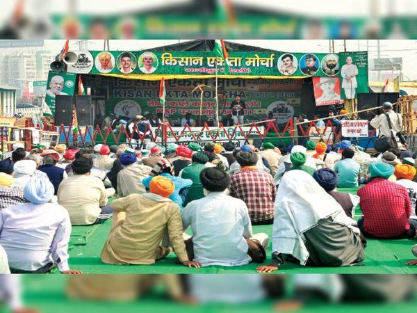 किसान आंदोलन - Dainik Bhaskar
