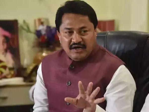 नाना पटोले कुछ दिन पहले ही विधानसभा का स्पीकर का पद छोड़कर कांग्रेस के प्रदेश अध्यक्ष बने हैं। - Dainik Bhaskar