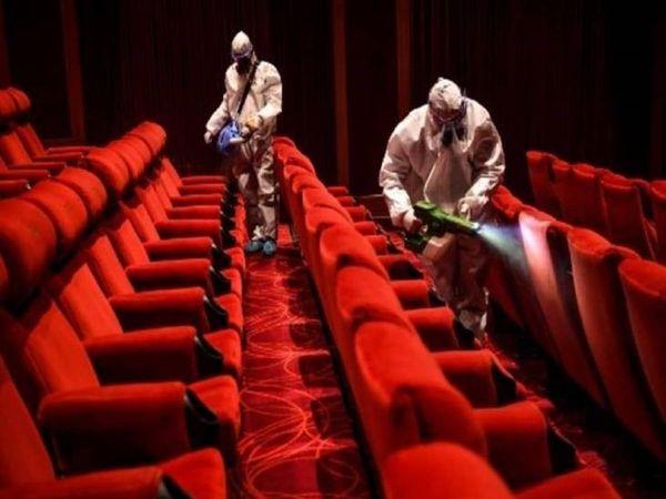 सरकार ने 50 प्रतिशत क्षमता पर सिनेमा हॉल खोलने की अनुमति दे दी है।- प्रतीकात्मक फोटो। - Dainik Bhaskar
