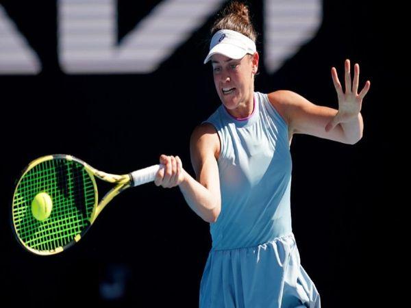 जेनिफर ब्रैडी ने ऑस्ट्रेलियन ओपन के सेमीफाइनल में चेक गणराज्य की वर्ल्ड नंबर- 27 कैरोलीना मुचोवा को 6-4, 3-6, 6-4 से हराया। - Dainik Bhaskar