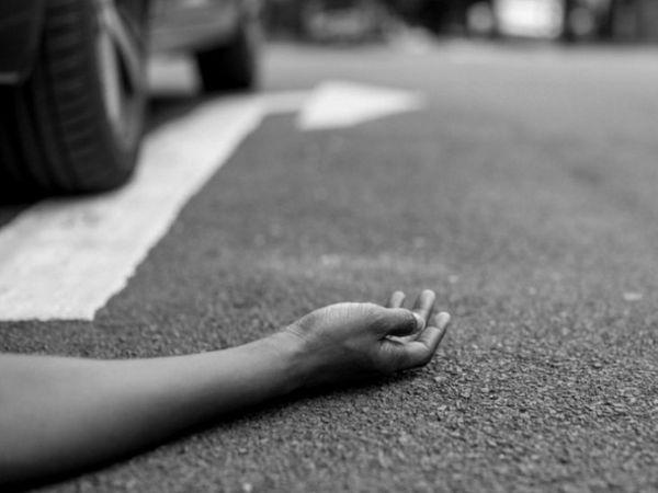 हादसे में एक युवक और एक 16 वर्षीय किशोर की मौत हो गई है। - Dainik Bhaskar