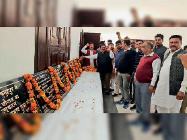 कुरुक्षेत्र| विधायक सुभाष सुधा ने करोड़ों की लागत से बने विकास कार्यों का किया उद्घाटन। - Dainik Bhaskar