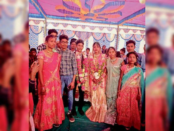 तस्वीर 6 फरवरी की... जब सनियारो और संजय की शादी हुई थी। - Dainik Bhaskar