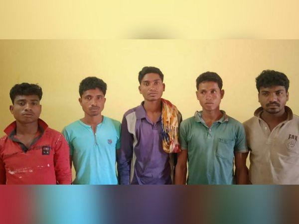 छत्तीसगढ़ के बीजापुर में सुरक्षाबलों ने पांच नक्सलियों को गिरफ्तार किया है। - Dainik Bhaskar