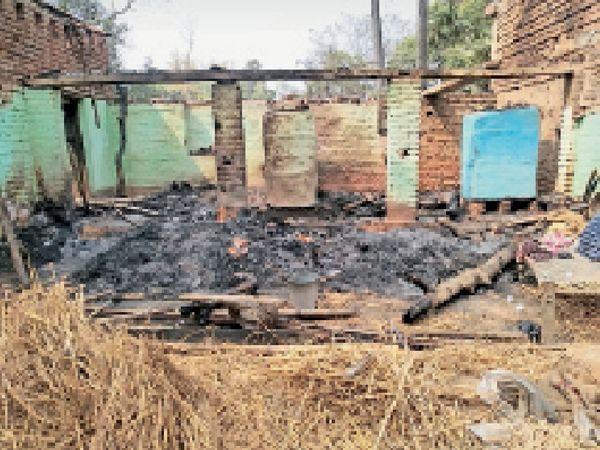 मालडा गांव स्थित दूसरे पक्ष का जलाघर। - Dainik Bhaskar