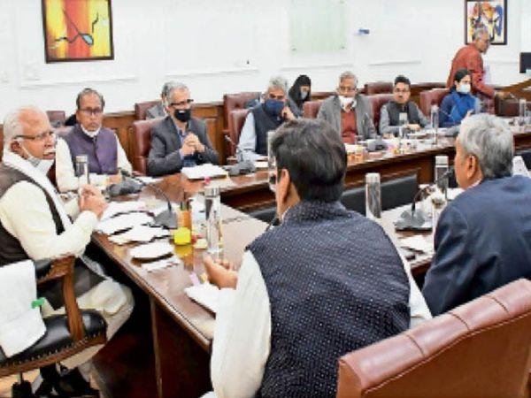 सीएम ने किसान कल्याण प्राधिकरण की बैठक में अफसरों को निर्देश दिए। - Dainik Bhaskar