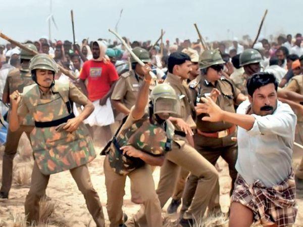 2012 में कुडनकुलम परमाणु संयंत्र का विरोध कर रहे 9000 लोगों पर भी राजद्रोह का मामला लगा था। - Dainik Bhaskar