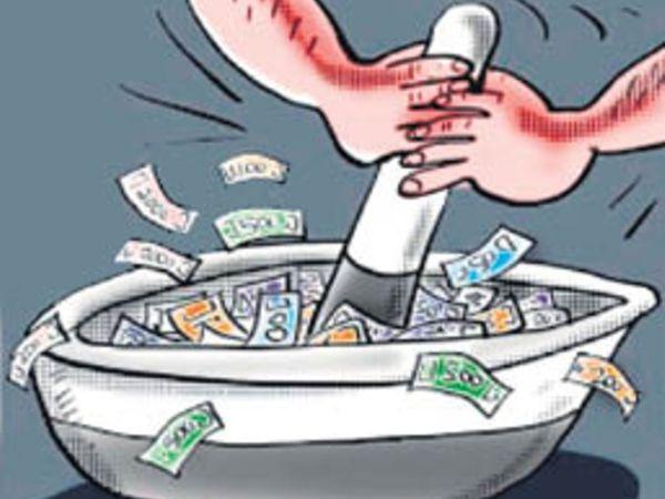 25 करोड़ की दवाएं कोरोनाकाल में खरीदी गईं, बाजार से 10 गुना महंगे दाम पर। - Dainik Bhaskar
