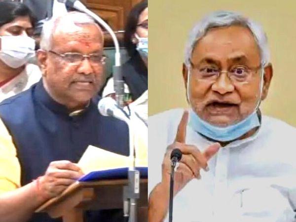 बिहार के वित्त मंत्री ने बजट में जो राशि दी है, वह नीतीश सरकार के रोजगार के दावों के लिए पर्याप्त नहीं। - Dainik Bhaskar