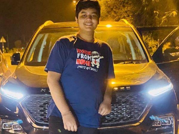 संजीवनी नगर में  किशोर के अपहरण की काेशिश। - Dainik Bhaskar