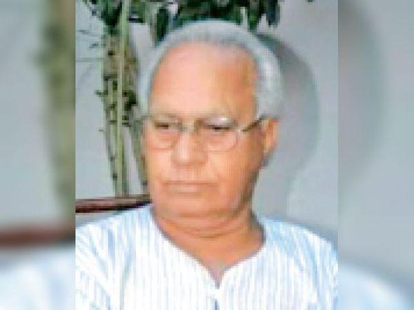 डॉ.ओम प्रभाकर - Dainik Bhaskar