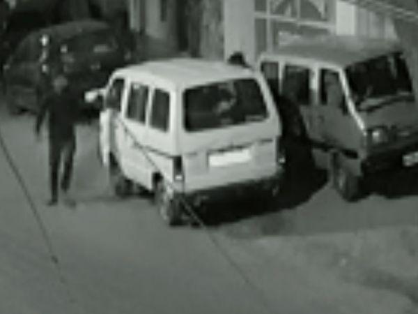 CCTV में कैद वारदात