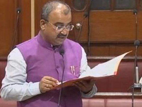 मंत्री मंगल पांडेय। - फाइल फोटो - Dainik Bhaskar