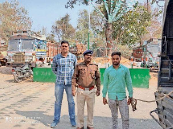 पुलिस ने आरोपी पति को गिरफ्तार किया। - Dainik Bhaskar