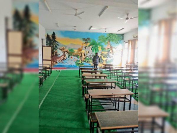 कक्षाओं के सफाई - Dainik Bhaskar