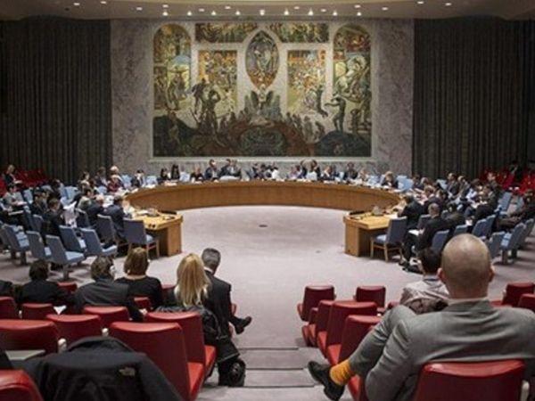 यूएन सिक्योरिटी काउंसिल की मीटिंग में भारत के प्रतिनिधी नागराज नायडू ने पाकिस्तान का नाम लिए बिना उसे भारत में आतंकवाद फैलाने का जिम्मेदार करार दिया और सदस्य देशों के सामने इसके सबूत भी रखे। (फाइल) - Dainik Bhaskar