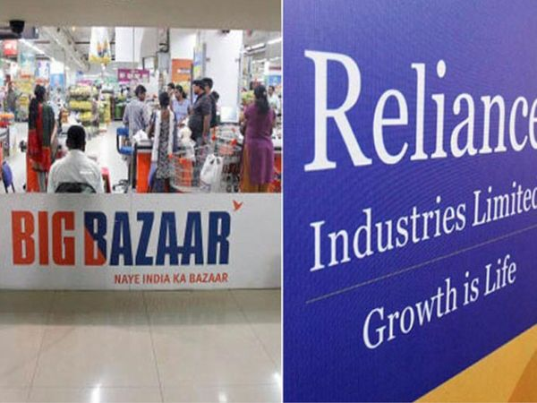 ई-कॉमर्स कंपनी अमेजन रिलायंस और फ्यूचर ग्रुप के बीच हुई डील को रोकने की मांग की कोशिश कर रही है। - Dainik Bhaskar
