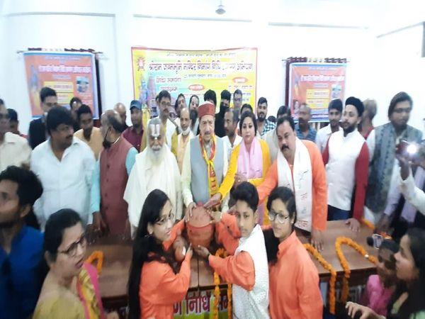 उत्तर प्रदेश के अयोध्या में राम मंदिर निधि समर्पण अभियान का समापन आज हो गया है। - Dainik Bhaskar
