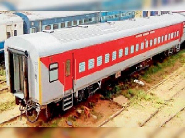 130 किलोमीटर प्रति घंटा की रफ्तार से ट्रेन दौड़ाने को लेकर फिरोजपुर मंडल द्वारा लुधियाना से ब्यास तक ट्रैक अपग्रेड कर दिए हैं। - Dainik Bhaskar