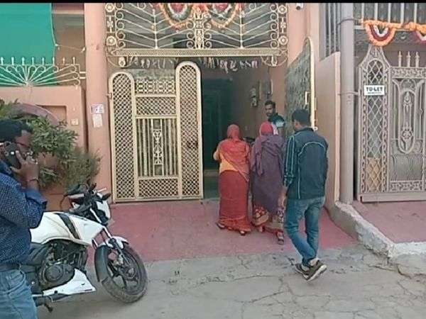 Retired SDO's house in Vinay Nagar, this is the property for which there was a whole dispute - Dainik Bhaskar