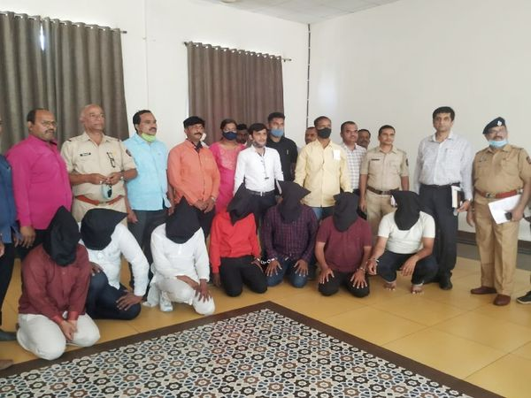 All the accused have been arrested from Baramati, Malegaon, Pune.  - Dainik Bhaskar