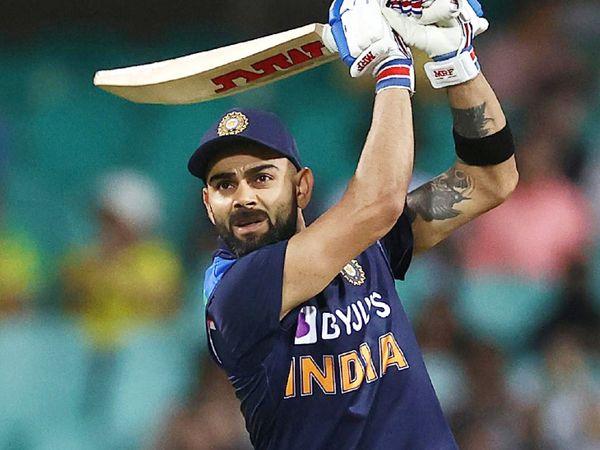 कोहली क्रिकेट के तीनों फॉर्मेट (टेस्ट, वनडे और टी-20) में ICC रैंकिंग में टॉप-10 बल्लेबाजों में शामिल हैं। (फाइल फोटो) - Dainik Bhaskar