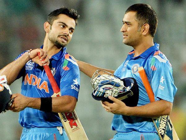 Sri Lanka defeated India by 6 wickets in the 2014 T20 World Cup final.  Kohli had scored 77 runs off 58 balls in this match.  - Dainik Bhaskar