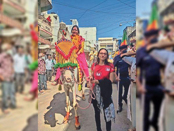जीत के घोड़े पर सवार भाजपा - Dainik Bhaskar